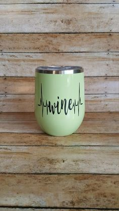 Stainless Steel Wine Tumbler with Straw Heartbeats for Wine Special Gifts For Her, Gifts For Mom, Presents For Teachers, Gift Guide For Him, Boho Home, Rustic Gifts, Tumbler With Straw, Valentines Day Gifts For Her, Anniversary Gift For Her