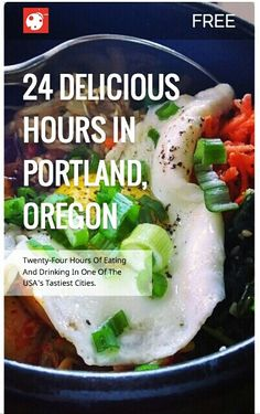 Spend 24 delicious hours with farm-to-fork eats, organic beers and incredible COCKTAILS in Portland via @buggl
