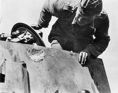 Tiger frontal hit Russia 1943