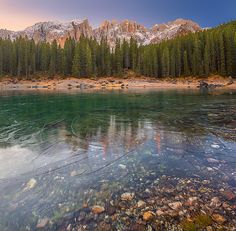 Валерий Щербина - О ледяных узорах озера Carezza