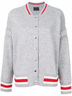 Shop Zoe Jordan Lupi bomber jacket