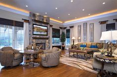 Family Room & Sitting Room