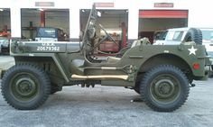 Military Jeep. You would be surprised how many parts you can still get for these. And we carry them.