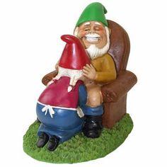 Happy Couple Garden Gnomes only $24.99 at Garden Fun Garden Gnomes For Sale, Funny Garden Gnomes, Yard Gnomes, Funny Gnomes, Gnome Garden, Lawn And Garden, Garden Fun, Dream Garden, Gnome Ornaments