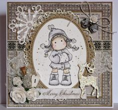 Winter Tilda (with Maja Design A Gift for You papers)