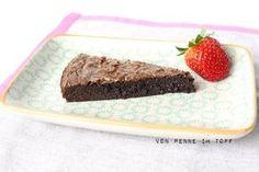 """In einer großen italienischen Restaurantkette steht ein Schokoladenkuchen mit dem vielversprechenden Titel """"Death by Chocolate"""" auf der ..."""