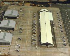 FedEx hub in 1977