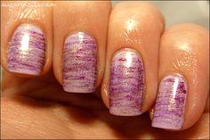 Sweet Sugar: Fan Brush Striped Nails