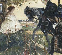 Witold Wojtkiewicz (1879-1909) Polish Artist ~ Call. Tribute 1908