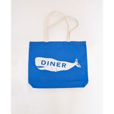 Diner Whale Tote Bag | Diner NYC