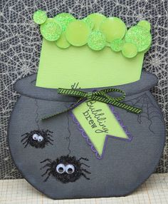 Cute Idea for Halloween card