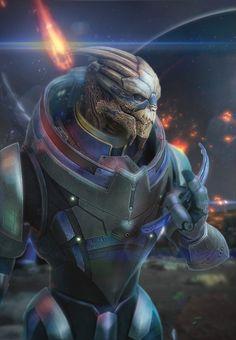 Garrus by brinx-II.deviantart.com on @deviantART  #masseffect #videogames #gaming
