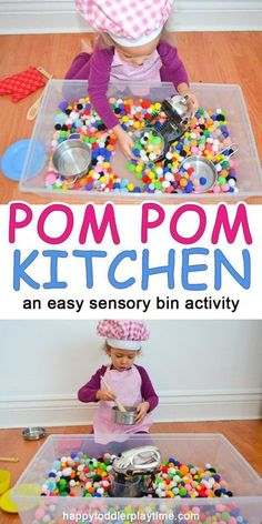An easy sensory play activity for preschoolers and toddlers! An easy sensory play activity for preschoolers and toddlers! Toddler Sensory Bins, Sensory Activities Toddlers, Toddler Play, Infant Activities, Toddler Preschool, Preschool Activities, Sensory Play For Babies, Toddler Classroom, Maila
