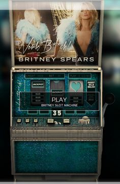 Play Britney Spears' amazing online casino! The slot machine is open now: http://work.britneyspears.com/