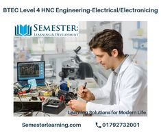 Top HNC electrical engineering distance learning at semester learning. For those students who already have a grasp of engineering concepts and already worked at technician level. Electrical Engineering, Online Courses, Certificate, Flexibility, Opportunity, How To Apply, Internet, Student, Learning