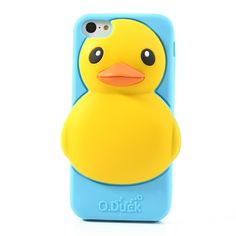 Adorable #Rubber #Duck Silicone Case for #iPhone5c