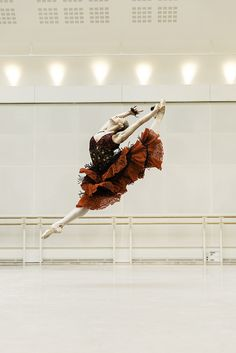 Marianela Nuñez in rehearsals for Don Quixote © ROH / Johan Persson 2013