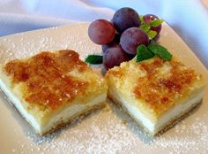 Czech Recipes, Russian Recipes, Cottage Cheese, Cheesecake, Food And Drink, Pudding, Sweets, Traditional, Cooking