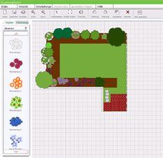 so zeichnen sie einen gartenplan gardens garten and. Black Bedroom Furniture Sets. Home Design Ideas