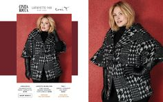 Toni Plus Fall 2017 Look Book Plus Size Designer Fashion  Cinzia Rocca Lafayette 148 New York toni T. www.toniplus.com