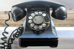 Vintage 1940's Western Electric Bakelite Phone, Bell Systems Telephone, Lucy Phone
