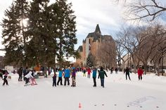 SASKATOON | Cameco Meewasin Skaters' Rink in PotashCorp Plaza, Kiwanis Memorial Park (north of the Bessborough Hotel), Spadina Crescent between 21st and 22nd Streets.