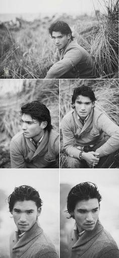 Nice senior male style posing by redheadmomma2014