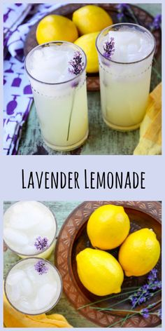 Lovely lavender adds a sweet floral note to this refreshing homemade lemonade. recipes recipes lemonade lemonade flowers Lavender adds a lovely flavour note to homemade lemonade in this delicious, pretty, and refreshing drink. Homemade Lemonade Recipes, Tea Recipes, Cocktail Recipes, Summer Recipes, Smoothie Recipes, Cooking Recipes, Cocktails, Martini Recipes, Recipes