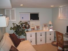 It's a Baltimore Life: Basement Office Makeover