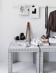 DIY: coole zwartwit rubiks kubustafel | IKEA IKEANederland LACK salontafel bijzettafel tafel zwartwit