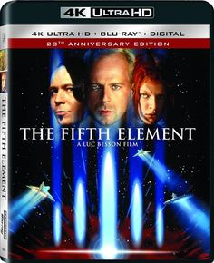 THE FIFTH ELEMENT (5th)  (4K ULTRA HD) - Blu Ray -  Region free Awesome as always loved every minute , 4K was awesome 5*****