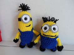 free pattern : Minions Revisited by Kristen McCrory