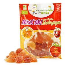 Bonbon bio Mixx'oh aux fruits - Les Chapardeurs de Grün | Biologiques & sans gluten