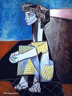 Пабло  Пикассо.  Жаклин.