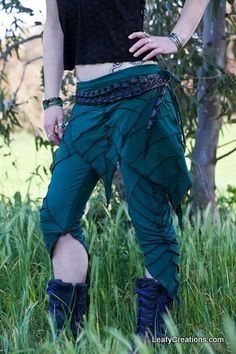 Dark Forest Green skirt pictured with Leaf Leggings