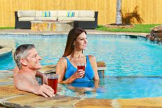 Anthony & Sylvan offers custom built, luxurious spas for the ulimate relaxation get away!