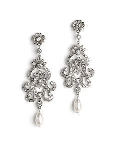 Women\'s Nina Swarovski Crystal Chandelier Earrings | My Jewelry ...
