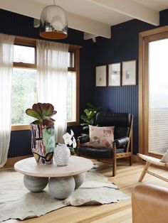 Top Ten Australian Homes of 2015 · Adriana Hanna and Arthur Gouvousis - The Design Files Decor, White Wood Paneling, Master Bedroom Remodel, Interior, Wood Paneling Living Room, Home Decor, House Interior, Remodel Bedroom, Home And Living