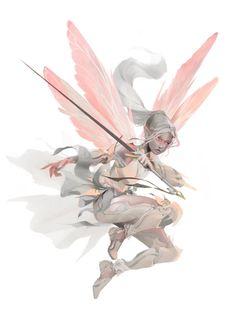 Dragonfly Knight by Dustin Panzino Fantasy Character Design, Character Design Inspiration, Character Art, Creature Concept Art, Creature Design, Humanoid Creatures, Fairy Art, Fantasy Artwork, Fantasy Creatures