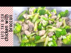 EASY CHICKEN WITH BROCCOLI | EASY RECIPE | EATS THE DISH - YouTube Broccoli Dishes, Chicken Broccoli, The Dish, Easy Meals, Make It Yourself, Vegetables, Eat, Youtube, Recipes