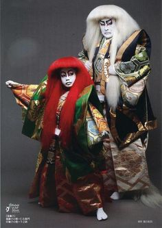 Japanese traditional theater, Kabuki 片岡仁左衛門、千之助