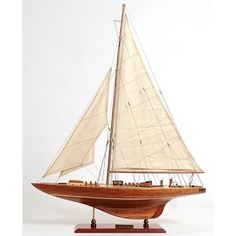 Old Modern Handicrafts Small Endeavour Yacht - Y068