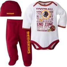 363a35e69 NFL Washington Redskins Baby Boys Bodysuit