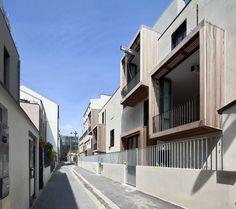Moussafir Architects have completed Tetris, a social housing and artist studio project in Paris, France. Moussafir: Tetris