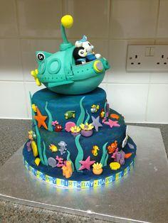Octonauts Cbeebies Cake, Bbc Kids, Twin Birthday Cakes, Octonauts Party, Novelty Cakes, Themed Cakes, Thanksgiving Recipes, Number Jacks, Asian Recipes