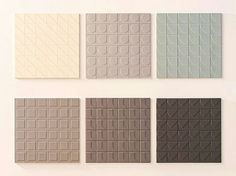 linha de ladrilhos desenhada por Konstantin Grcic para a Mutina Ceramics. #camilakleinarquiteta #stockholmdesignweek #konstantingrcic #tiles #palecolours #pastelcolours #mutedtones