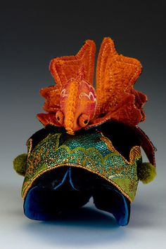 Gold Fish Story Hat by Leslie Molen Photography Mark Mortensen