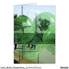 Lawn_Bowls_Competition,_ Greeting Card