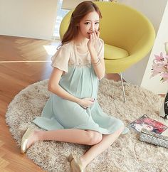 clothes for pregnant women 2016 maternity clothes summer women dresses for pregnant cool chiffon dress patchwork 2 colors