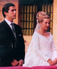 Princess Cristina of Bourbon-Sicily (*1966) and Pedro Lopez-Quesada (*1964) on July 15th